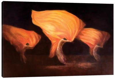 Chinese Dancers Canvas Art Print