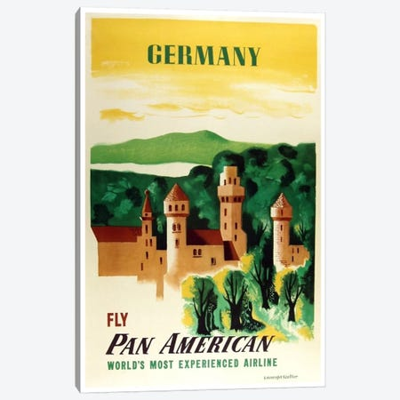 Germany - Fly Pan American Canvas Print #LIV109} by Unknown Artist Canvas Print
