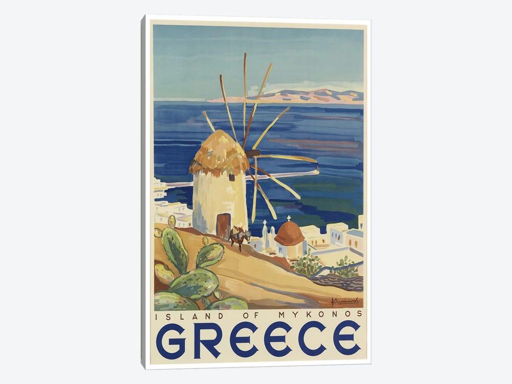 Greece: Island Of Mykonos by Unknown Artist 1-piece Canvas Wall Art