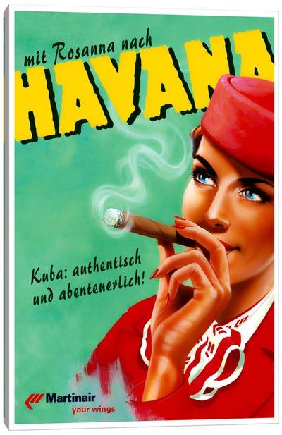 Havana - Martinair Canvas Art Print