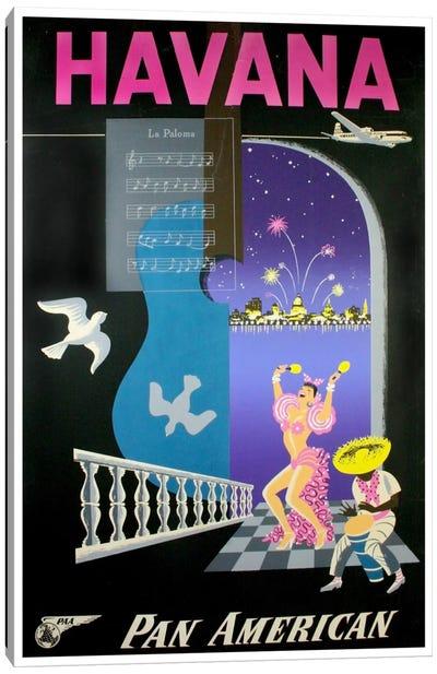 Havana - Pan American Canvas Art Print
