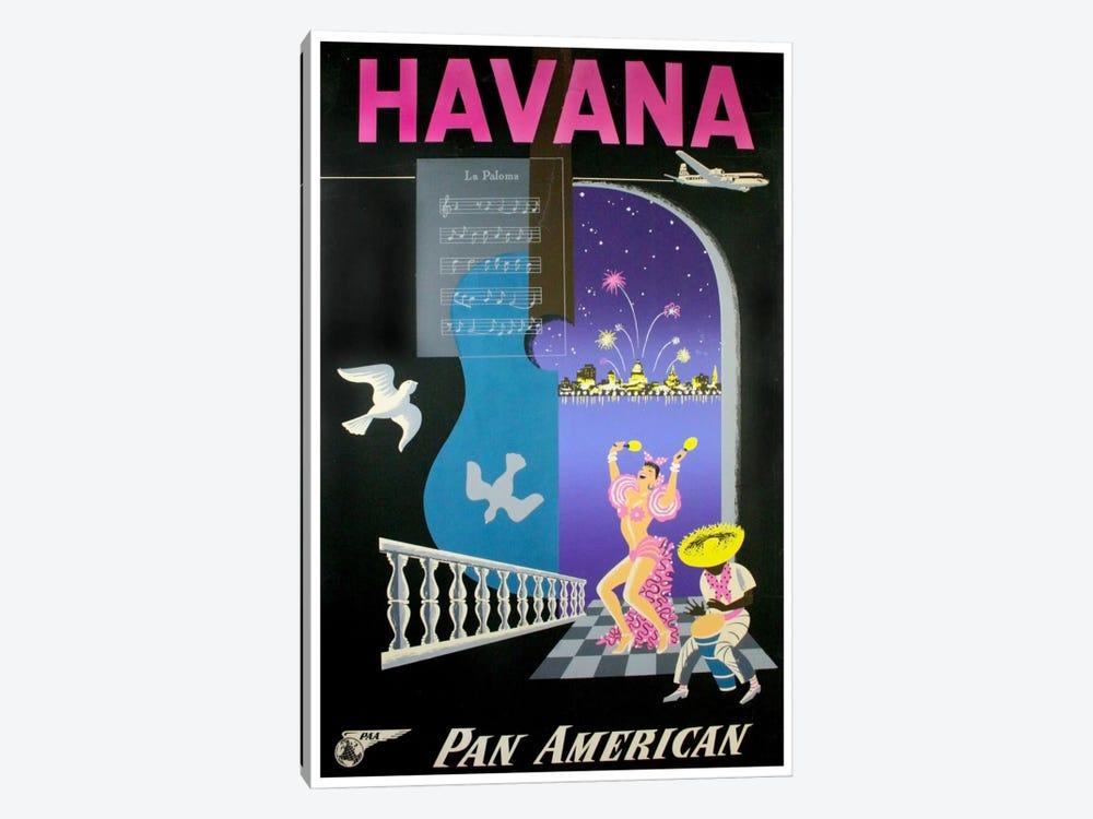 Havana - Pan American by Unknown Artist 1-piece Canvas Wall Art