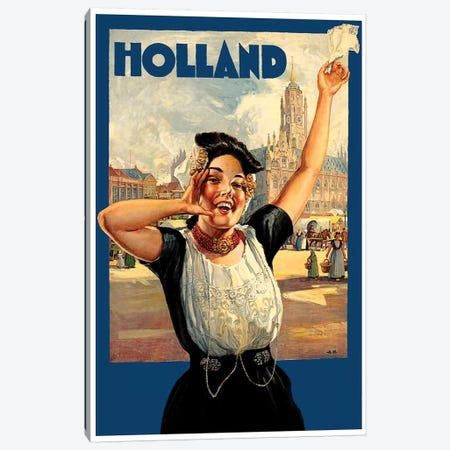 Holland I Canvas Print #LIV132} by Unknown Artist Canvas Art