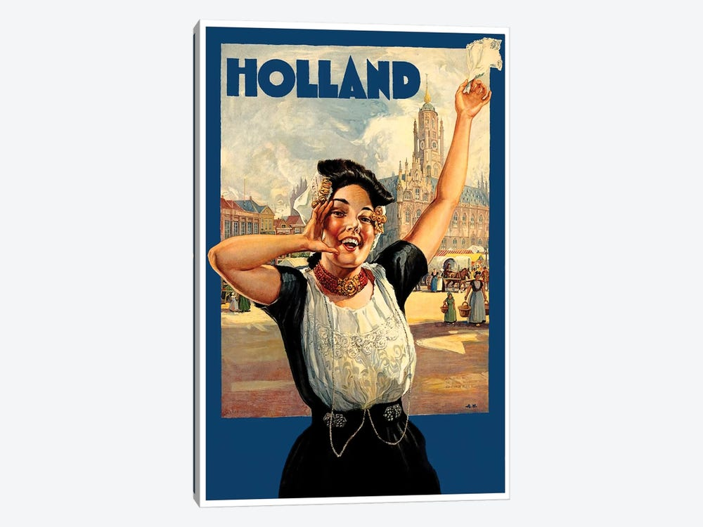 Holland I by Unknown Artist 1-piece Canvas Print