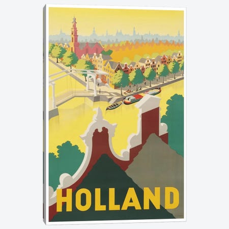 Holland II Canvas Print #LIV133} by Unknown Artist Canvas Art