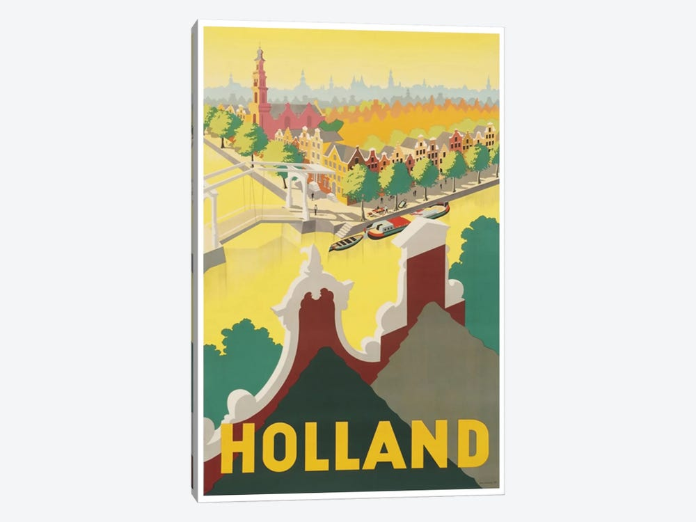 Holland II by Unknown Artist 1-piece Canvas Wall Art