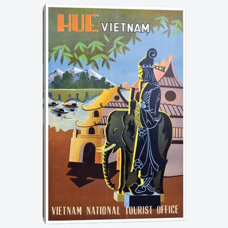 Hue, Vietnam: Vietnam National Tourist Office Canvas Print #LIV137} by Unknown Artist Art Print