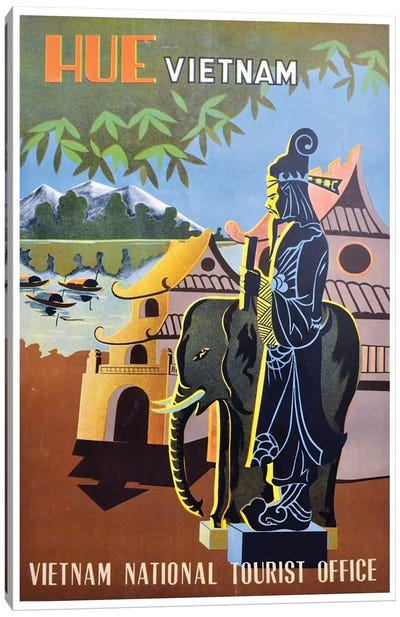 Hue, Vietnam: Vietnam National Tourist Office Canvas Art Print