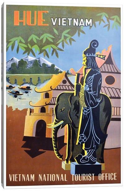 Hue, Vietnam: Vietnam National Tourist Office Canvas Art Print