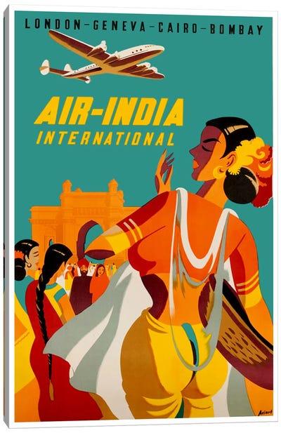 Air-India International Canvas Art Print