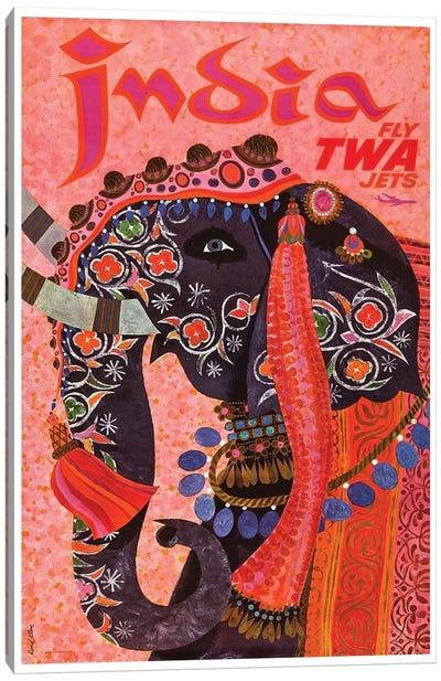India - TWA II Canvas Print #LIV143