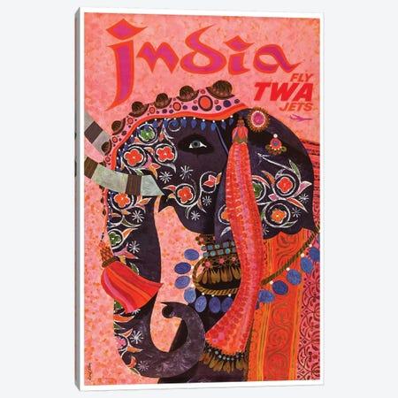 India - TWA II Canvas Print #LIV143} by Unknown Artist Art Print