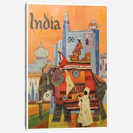 India: Culture Canvas Print #LIV145} by Unknown Artist Canvas Art