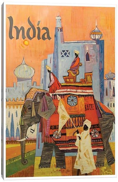 India: Culture Canvas Art Print