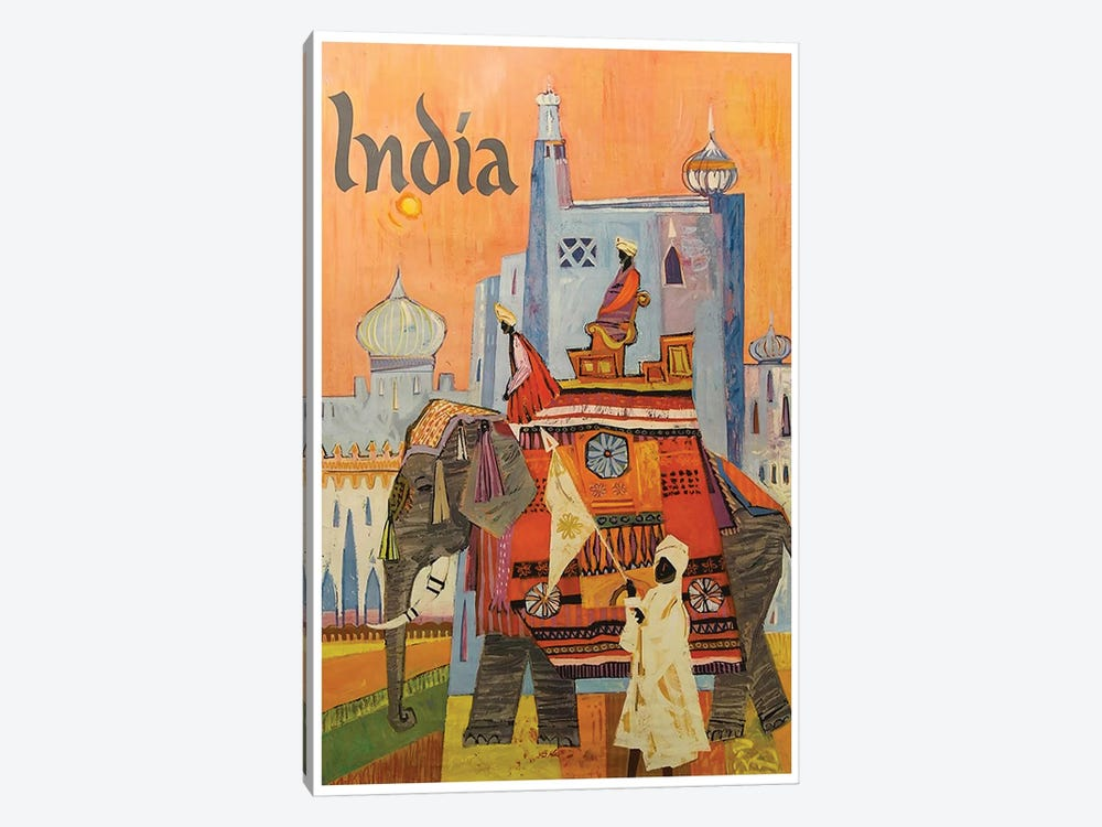 India: Culture by Unknown Artist 1-piece Canvas Print