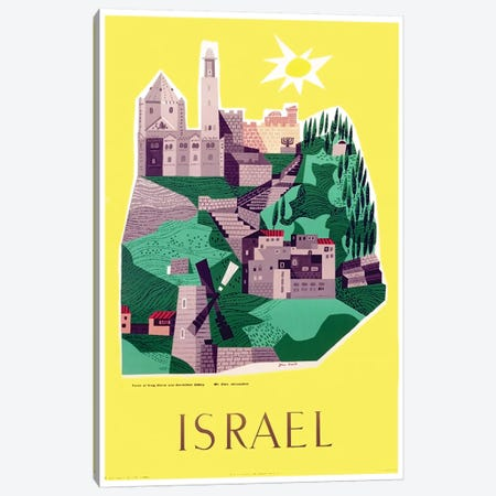 Israel Canvas Print #LIV148} by Unknown Artist Canvas Art Print