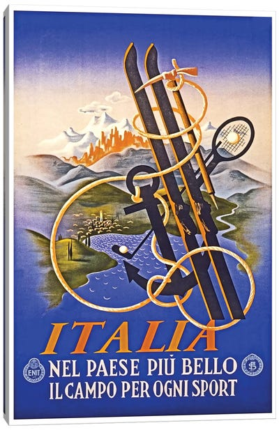 Italia Canvas Print #LIV149