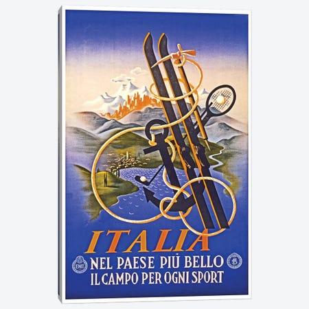Italia Canvas Print #LIV149} by Unknown Artist Art Print