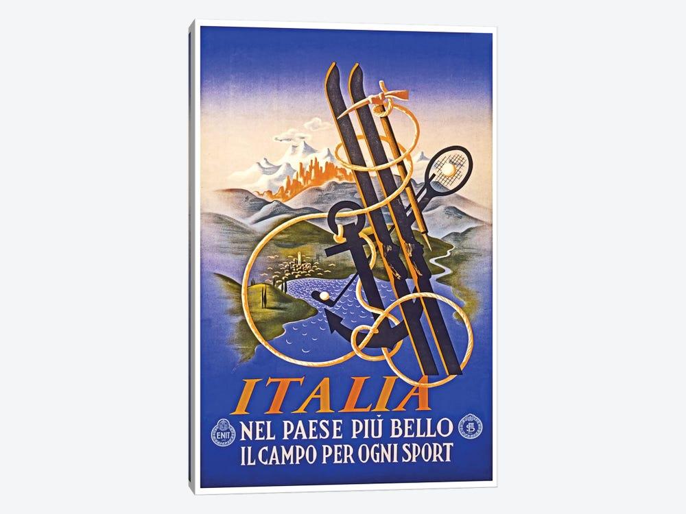 Italia by Unknown Artist 1-piece Canvas Print