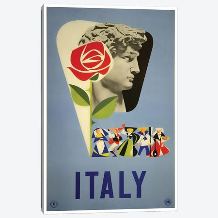 Italy I Canvas Print #LIV151} by Unknown Artist Canvas Wall Art