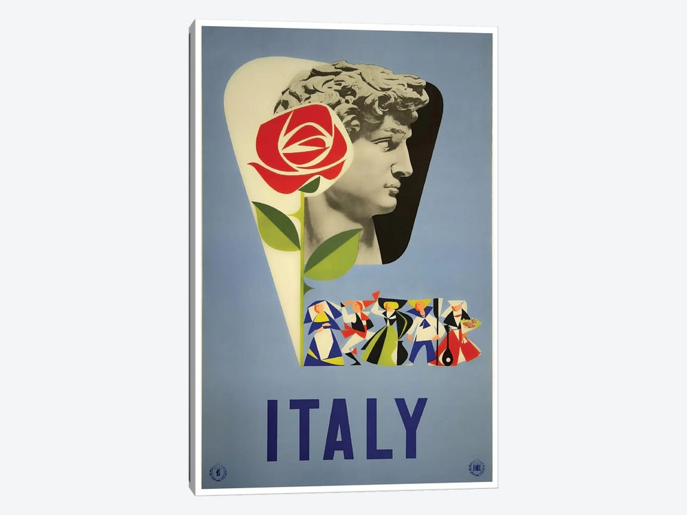 Italy I by Unknown Artist 1-piece Canvas Artwork