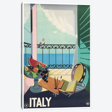 Italy II Canvas Print #LIV152} by Unknown Artist Canvas Art