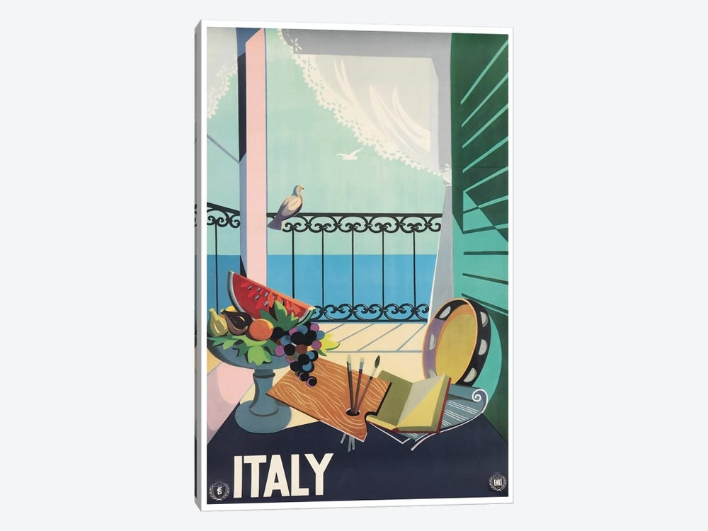 Italy II by Unknown Artist 1-piece Canvas Art Print