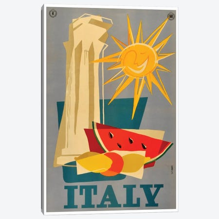 Italy III Canvas Print #LIV153} Canvas Wall Art