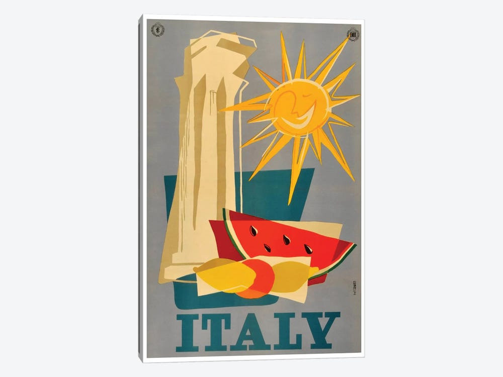 Italy III by Unknown Artist 1-piece Canvas Wall Art