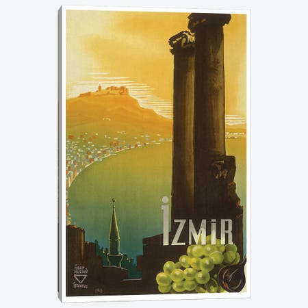 Izmir, Turkey Canvas Print #LIV154} by Unknown Artist Canvas Print