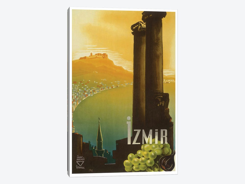 Izmir, Turkey 1-piece Canvas Print