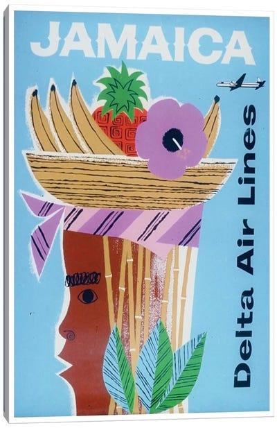 Jamaica - Delta Air Lines Canvas Print #LIV155