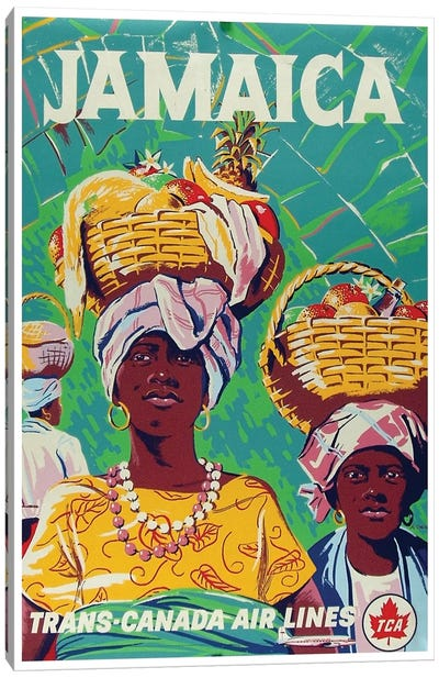 Jamaica - Trans-Canada Air Lines Canvas Print #LIV156