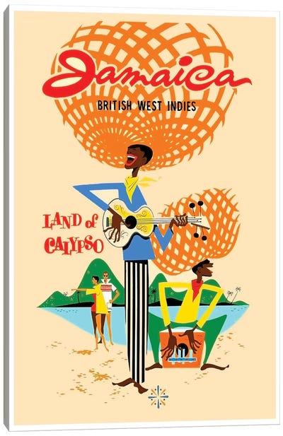 Jamaica British West Indies: Land Of Calypso Canvas Print #LIV157