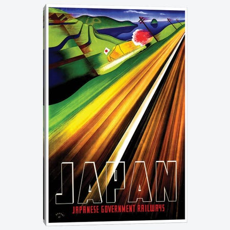 Japan - Japanese Government Railways Canvas Print #LIV159} by Unknown Artist Canvas Art