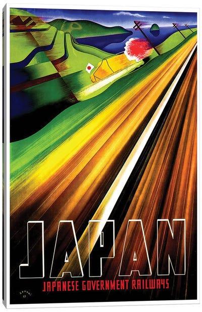 Japan - Japanese Government Railways Canvas Print #LIV159
