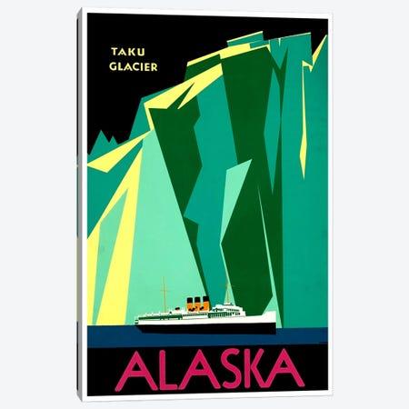 Alaska - Taku Glacier Canvas Print #LIV15} by Unknown Artist Canvas Artwork