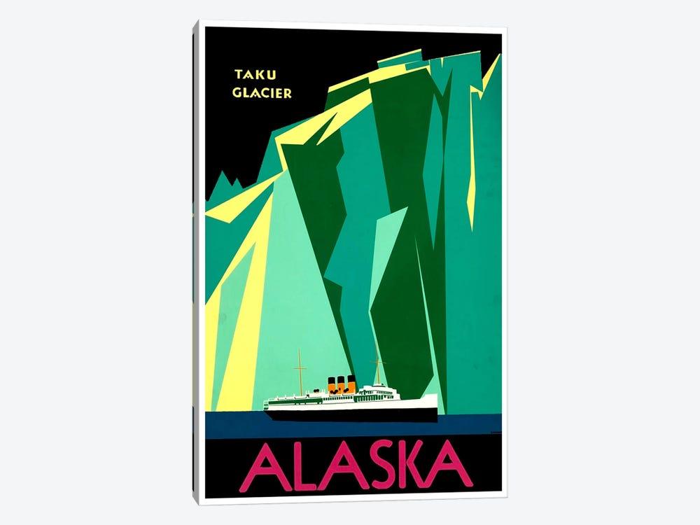 Alaska - Taku Glacier by Unknown Artist 1-piece Canvas Wall Art