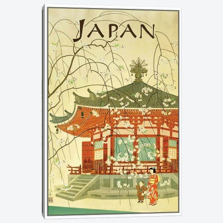 Japan I Canvas Print #LIV164} Canvas Artwork