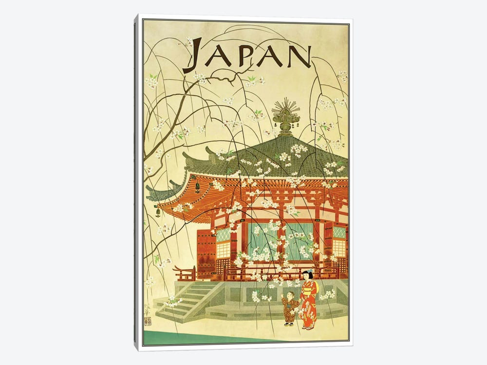 Japan I by Unknown Artist 1-piece Canvas Art