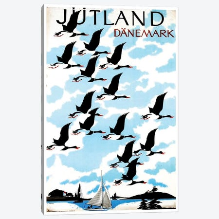 Jutland, Danemark Canvas Print #LIV171} by Unknown Artist Canvas Artwork