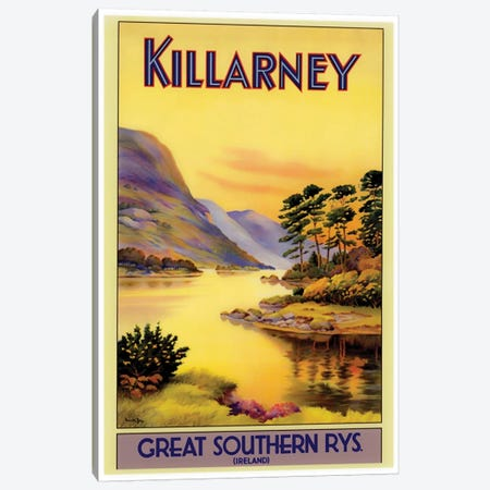Killarney Canvas Print #LIV174} by Unknown Artist Art Print