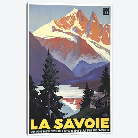 La Savoie (French Alps) Canvas Print #LIV176} by Unknown Artist Canvas Art Print