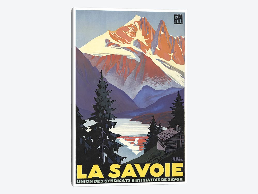 La Savoie (French Alps) 1-piece Art Print