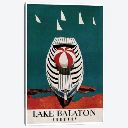 Lake Balaton, Hungary Canvas Print #LIV177} by Unknown Artist Canvas Print