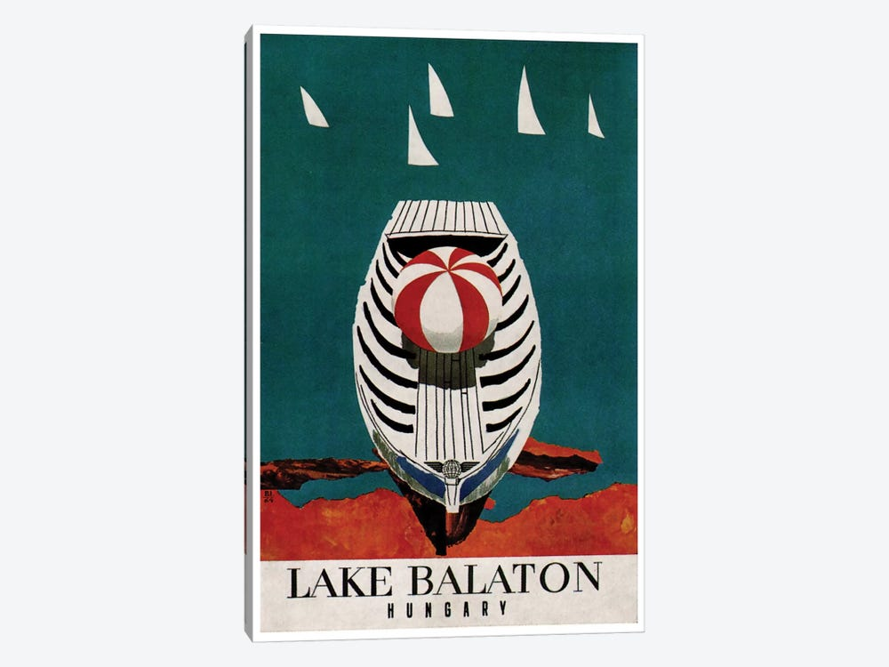 Lake Balaton, Hungary by Unknown Artist 1-piece Canvas Artwork