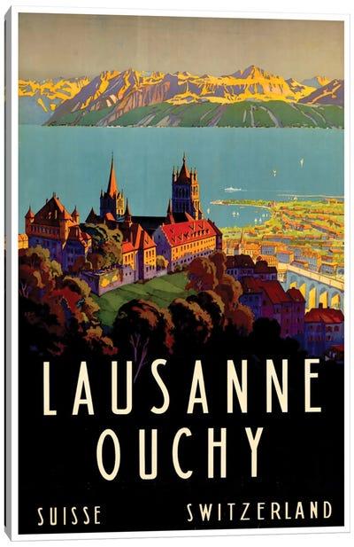 Lausanne-Ouchy, Switzerland II Canvas Art Print