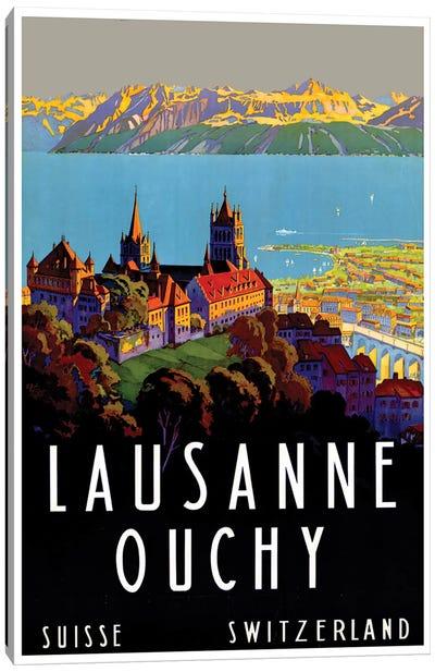 Lausanne-Ouchy, Switzerland III Canvas Art Print