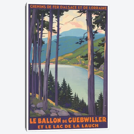 Le Ballon de Guebwiller Canvas Print #LIV185} by Unknown Artist Canvas Art
