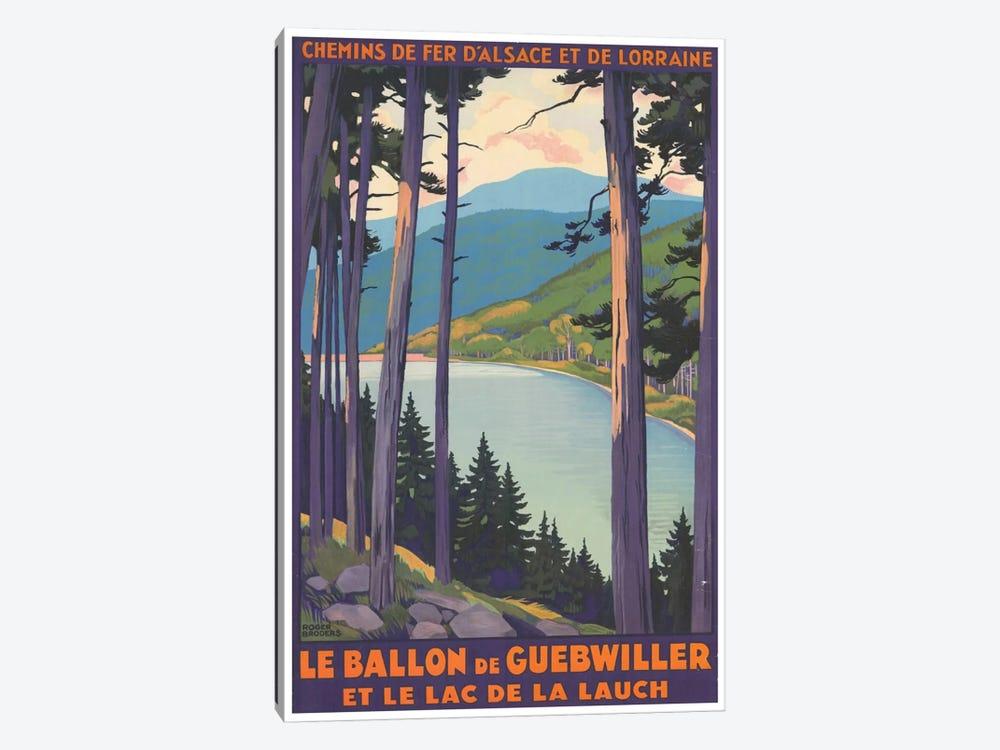 Le Ballon de Guebwiller by Unknown Artist 1-piece Canvas Art Print